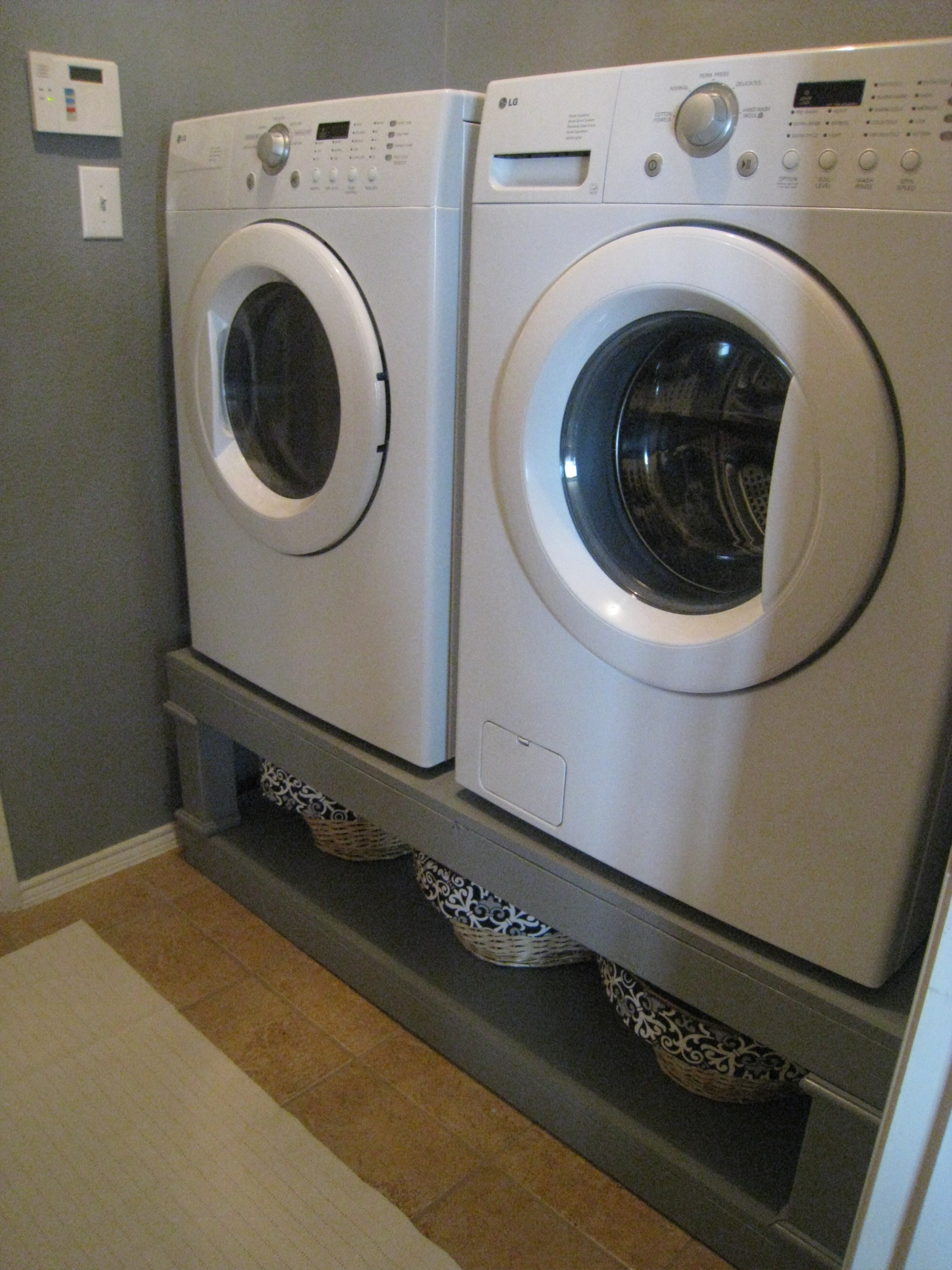 Ana White Washer Dryer Pedestal