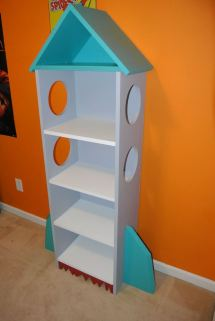 Ana White Rocket Bookcase - Diy Projects