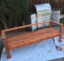 Ana White Redwood 2x4 Outdoor Sofa - Diy Projects