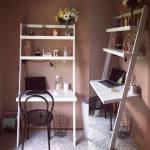 Leaning Ladder Desk Made By Tara Holmes 2017 Ana White