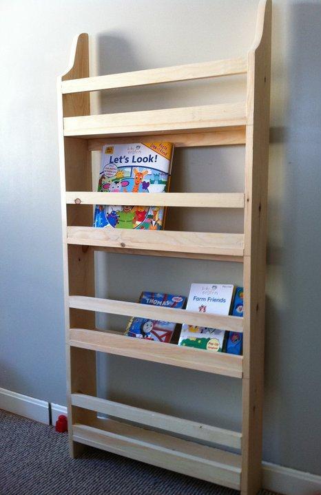 Flat Wall Book Shelves Ana White