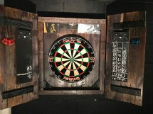 Ana White Dartboard Cabinet - Diy Projects