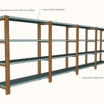 Diy Garage Shelves Freestanding Ana White