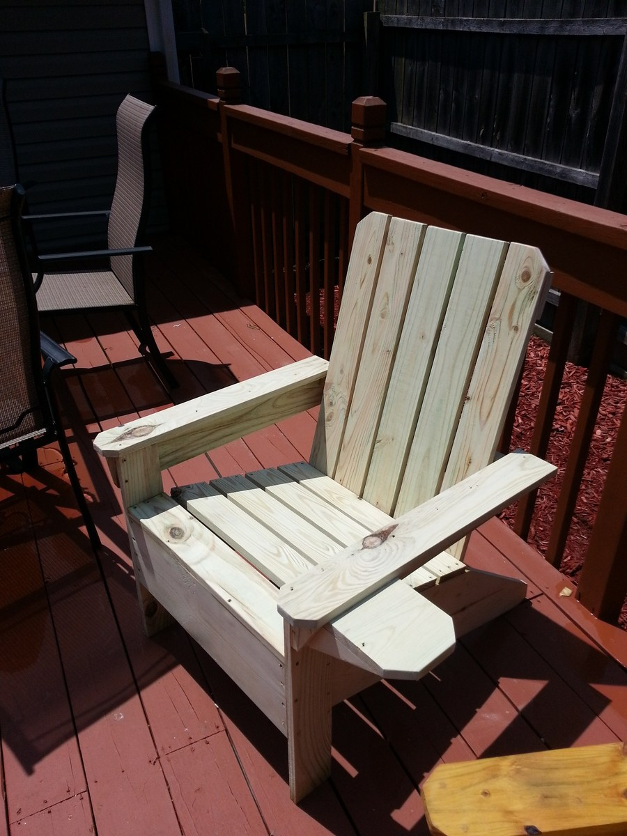 adirondack chair diy ana white for beauty parlour projects