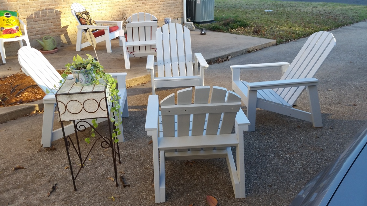 adirondack chair diy ana white beach chairs on the pictures home depot plans projects
