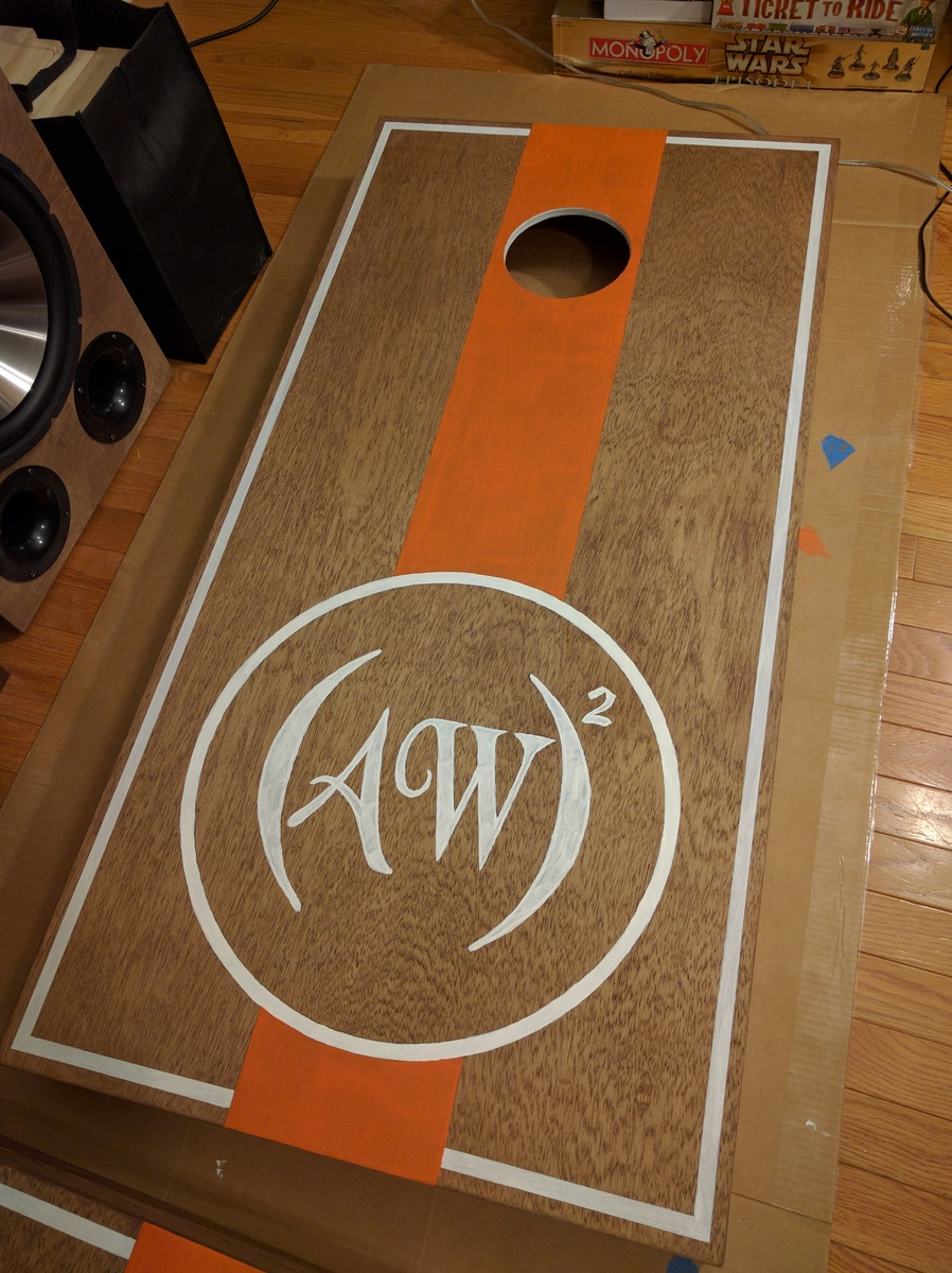 Ana White  Cornhole Boards  DIY Projects