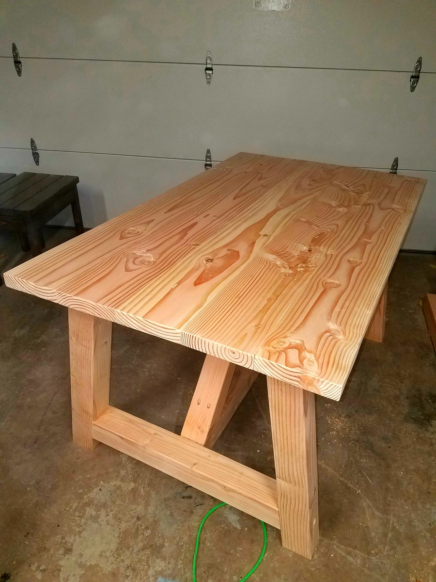 Ana White Truss Beam Table 35x60 Size DIY Projects