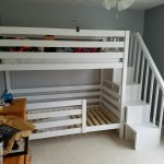 Classic Bunk Beds Re Imagined With Stairs Ana White
