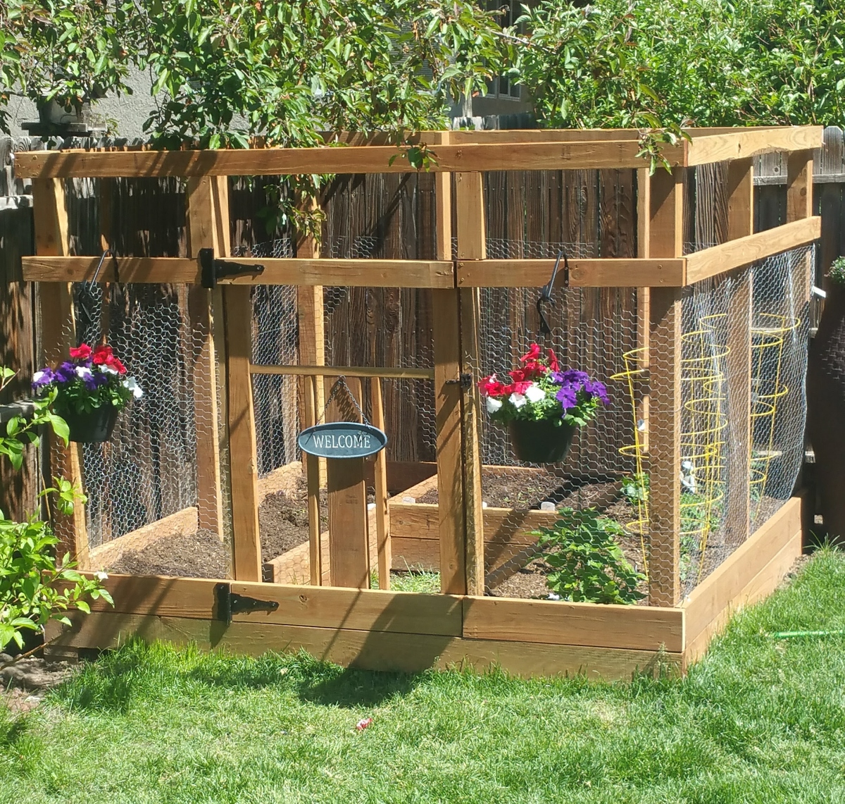 Boxed Vegetable Garden Ideas