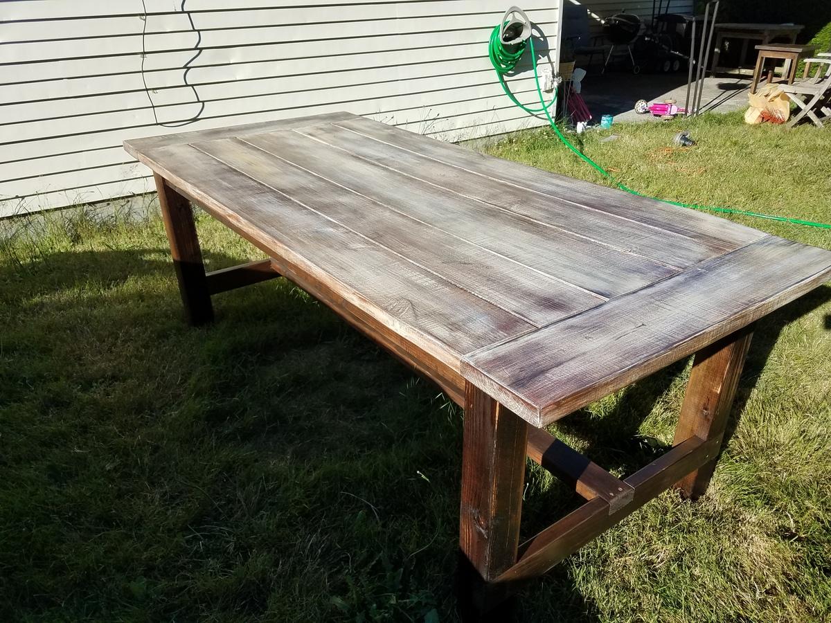 farmhouse patio table ana white