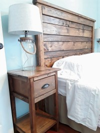 Ana White   Mini farmhouse bedside tables - DIY Projects