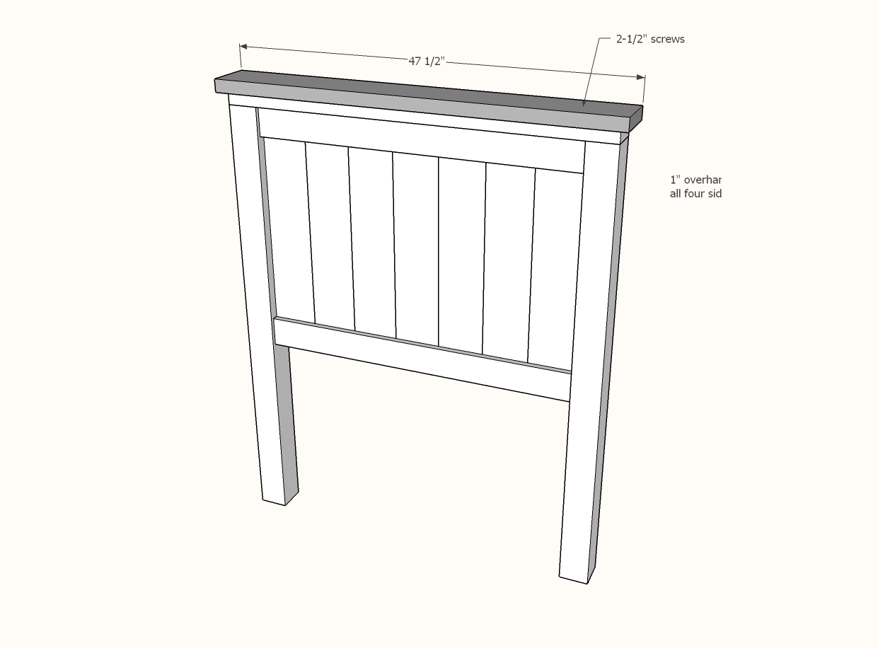 Farmhouse Bed Twin Size