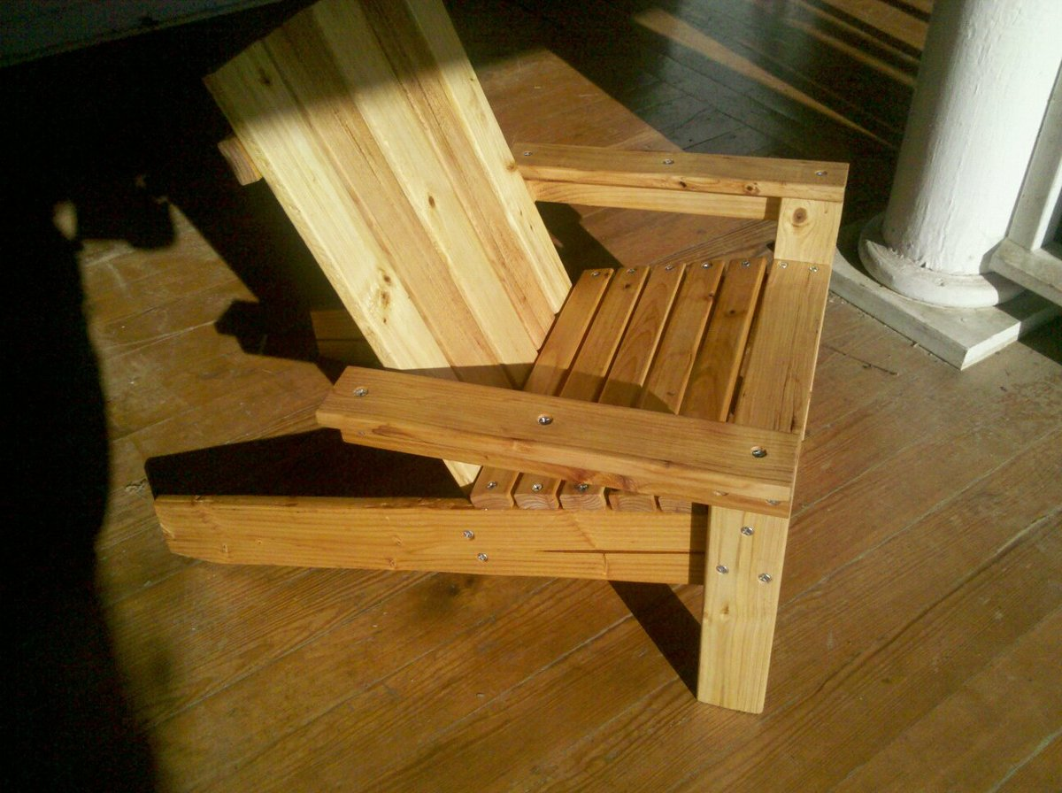 adirondack chair diy ana white nursery recliner my first quotana quot project kiddie