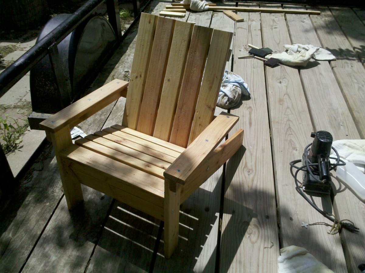 adirondack chair diy ana white baby alive high set my first quotana quot project kiddie