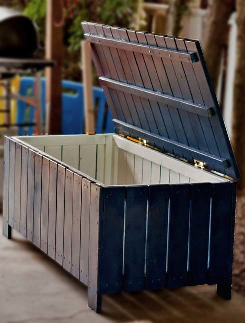 Ana White | Build a Outdoor Storage Bench | Free and Easy DIY Project ...