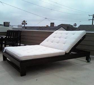 outdoor chaise lounge chairs with wheels adirondack from recycled plastic ana white diy projects