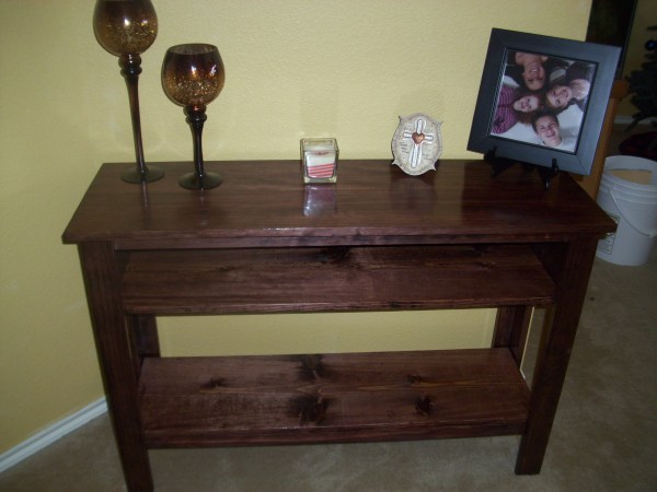 Entry Way Table DIY Ana White