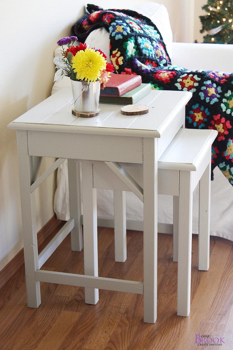diy living room side tables with 2 couches and chairs ana white preston nesting projects