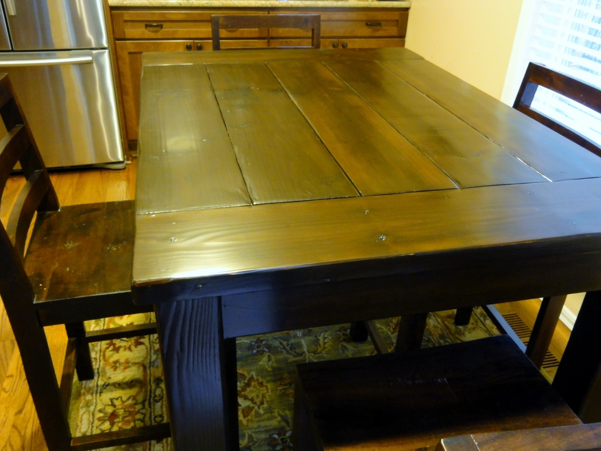 kitchen counter table cost to remodel a ana white tryde height diy projects