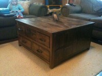 Ana White   Storage Coffee table - DIY Projects