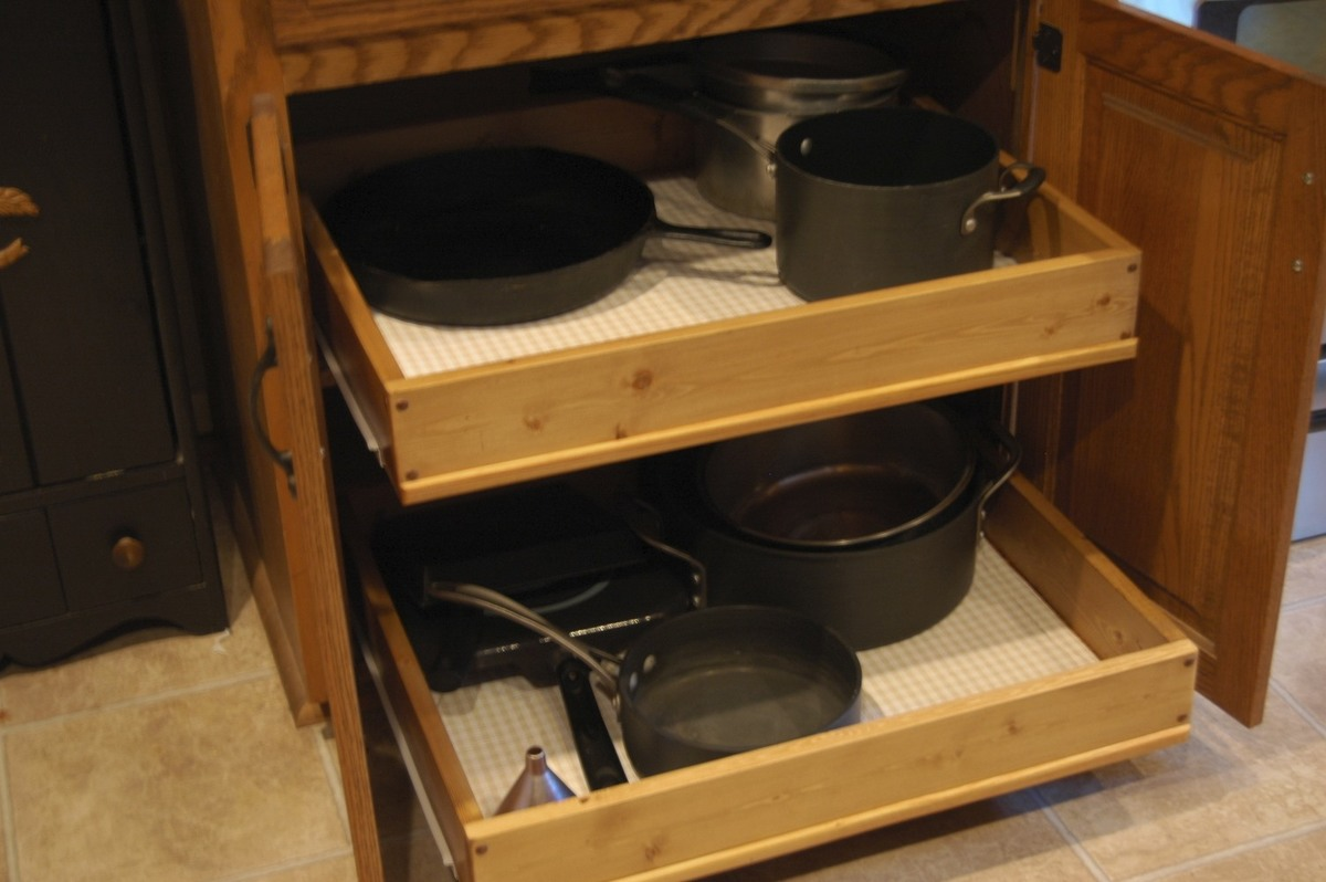 slide out organizers kitchen cabinets used equipment ana white pull cabinet drawers diy projects