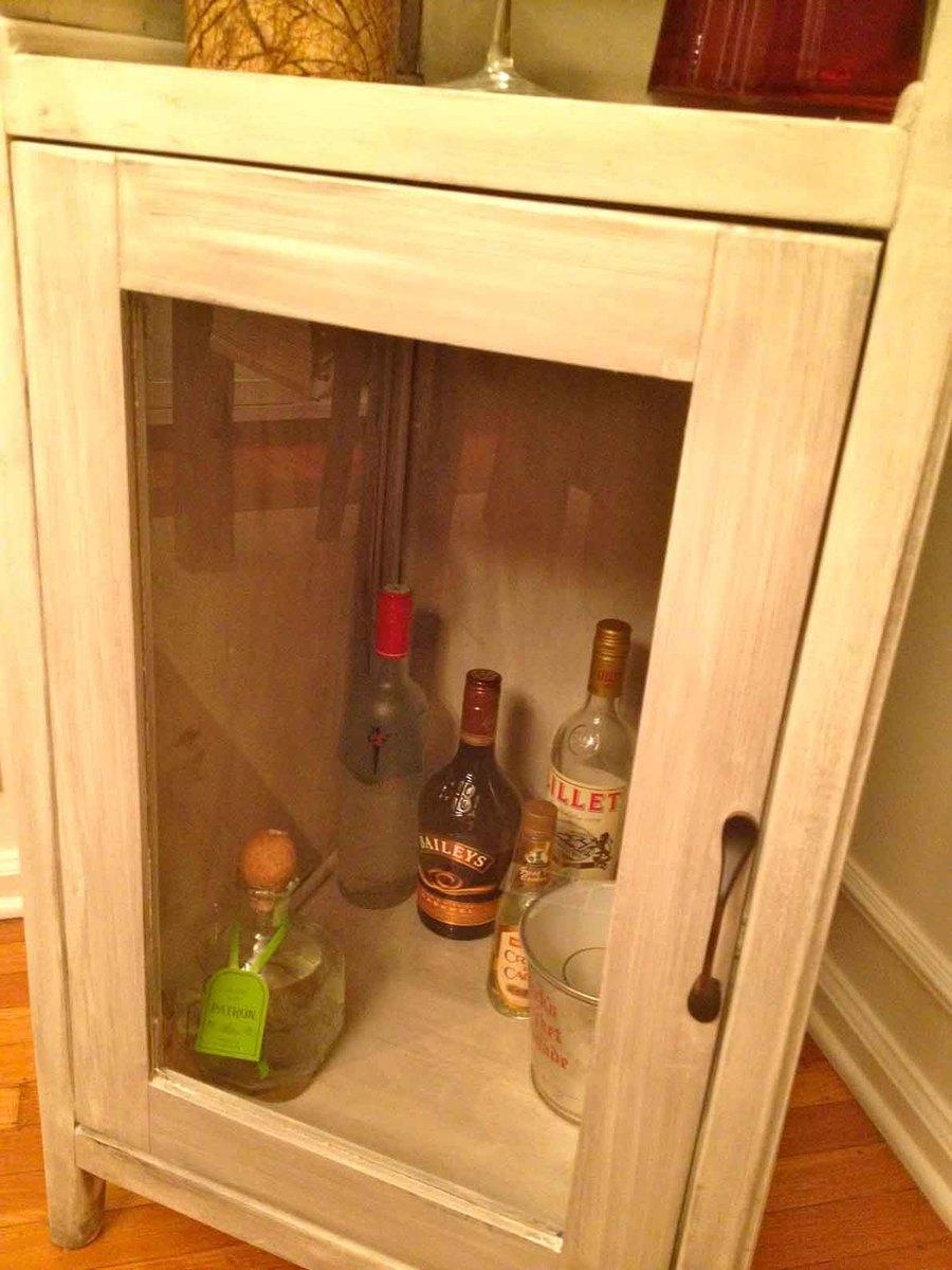 Ana White  Liquor Cabinet from Benchmark StorageMedia