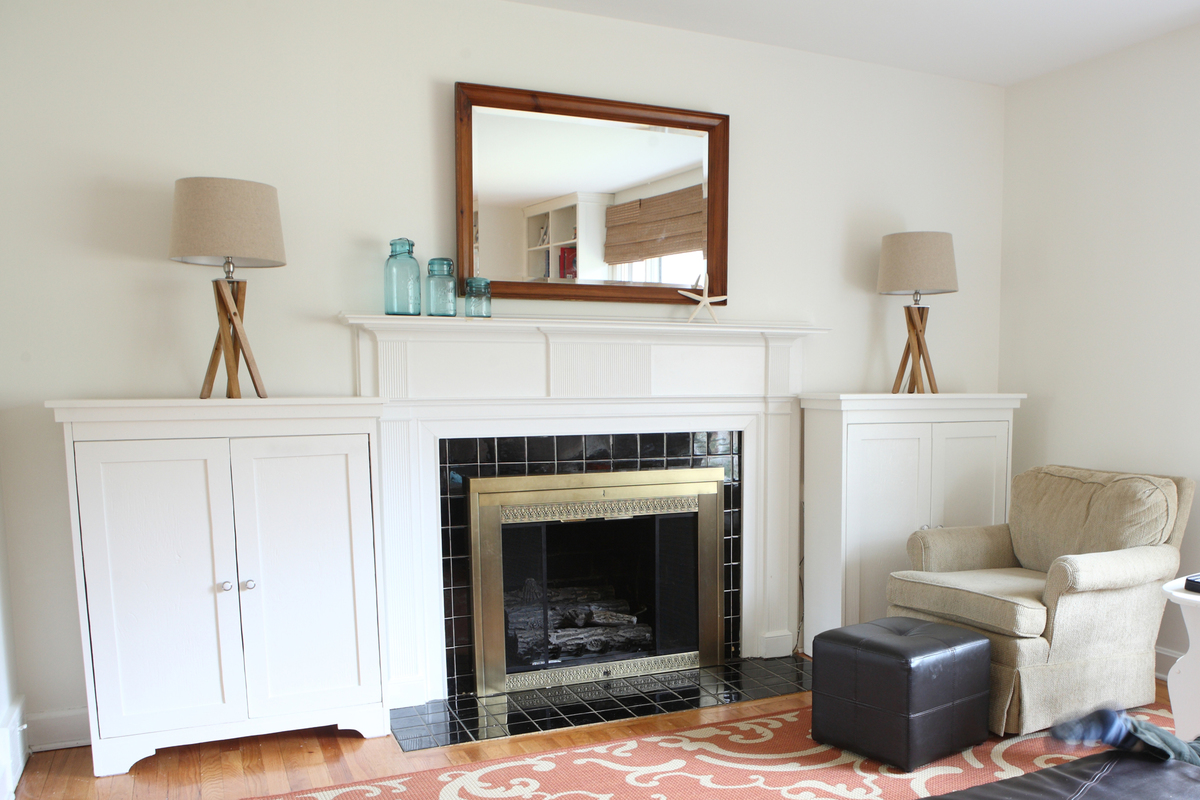 Ana White  Freestanding Living Room Cabinets  DIY Projects