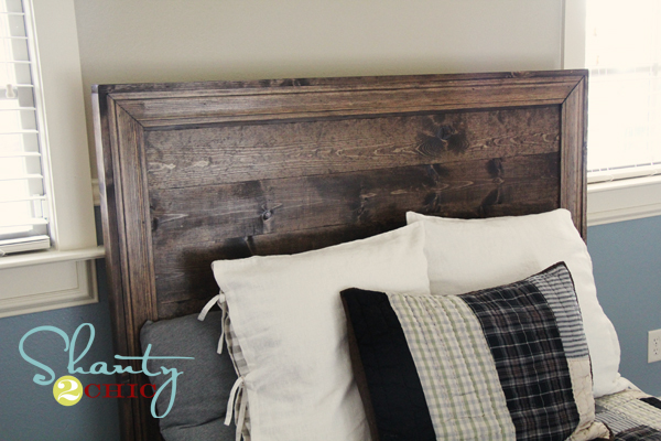 ana white   hailey planked headboard - diy projects