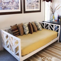 Diy Daybed Sofas Purple Sofa Adelaide Ana White Stacy Projects
