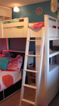 Ana White | Loft Bed w/ Bookcase and Headboard - DIY Projects