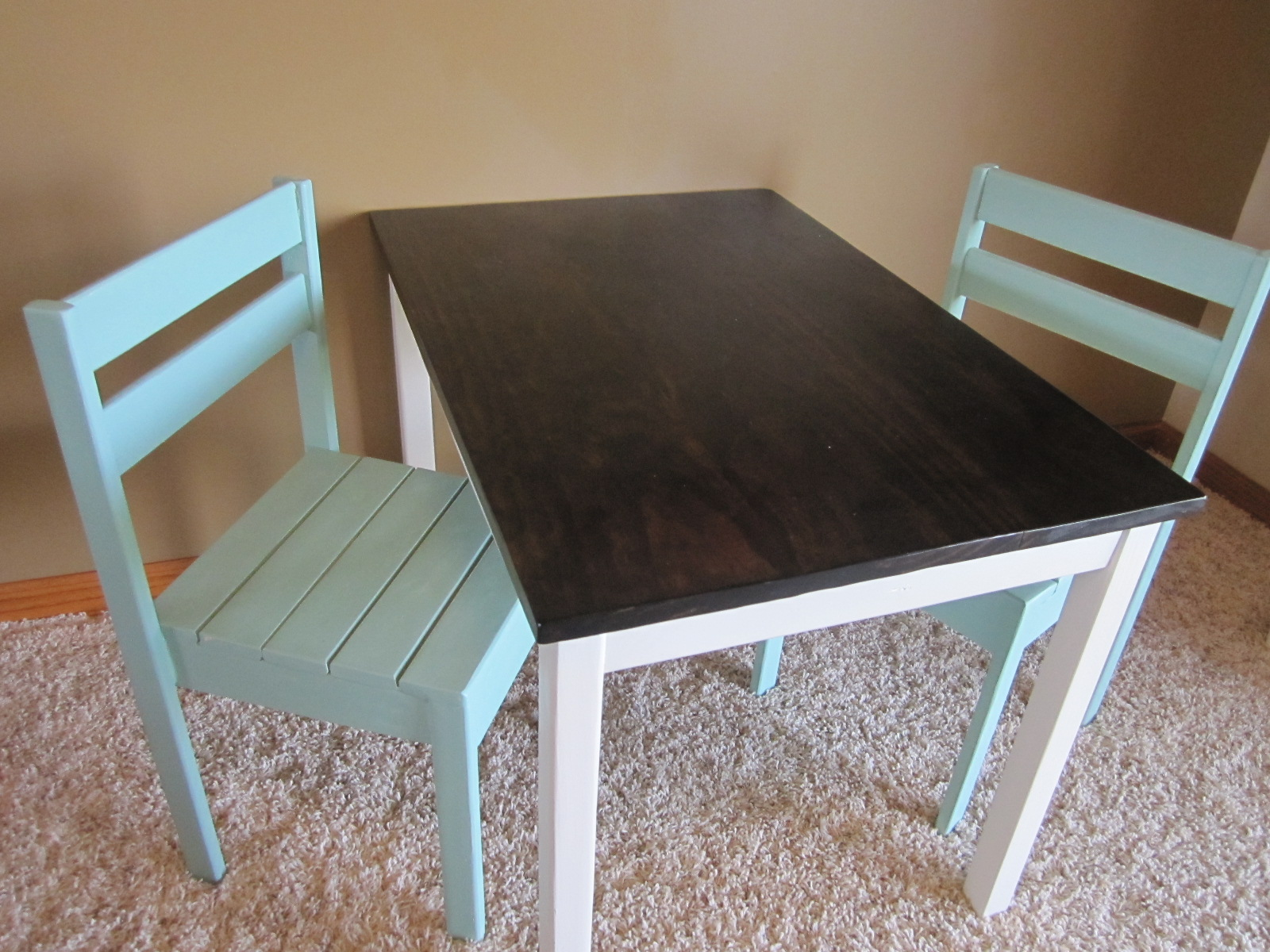 play table and chairs chair covers cheap for sale ana white diy projects