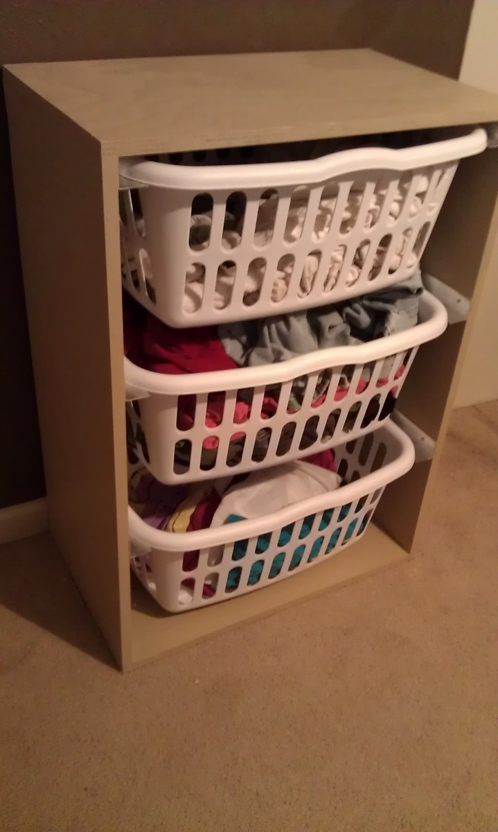 Ana White Laundry Basket Dresser DIY Projects