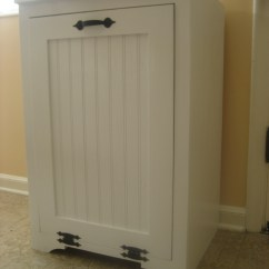 White Kitchen Trash Can Cabinet Doors Ana Tilt Out Wood Diy Projects