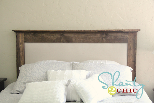 ana white   chestwick upholstered headboard- queen - diy projects