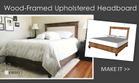 Diy Upholstered Headboard With Wood Frame