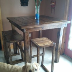 Pub Style Kitchen Table Designs Of Small Modular Ana White Diy Projects