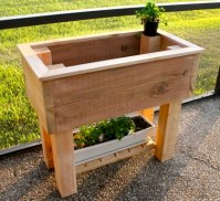 Ana White | Elevated Planter Box - DIY Projects