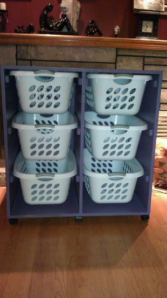 Ana White  Laundry Basket Dresser  DIY Projects