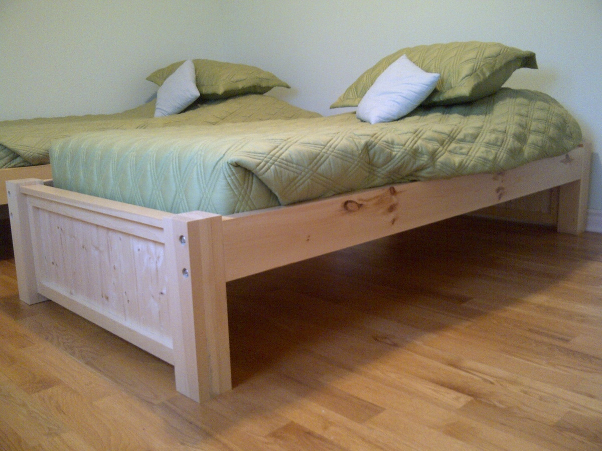 Ana White Michael Collection Twin Platform Bed DIY