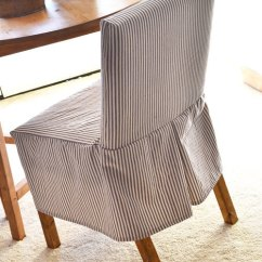 Anna Slipcover Chair Collection Black Desk Ana White Easiest Parson Slipcovers Diy Projects