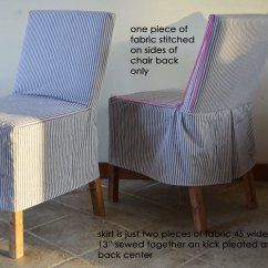 Parsons Chair Cover Pattern Lawn Covers Walmart Ana White Easiest Parson Slipcovers Diy Projects I Didn T Want To Spend A Ton Of Time Making Slipcover Just Something Quick And Easy Refresh The Chairs