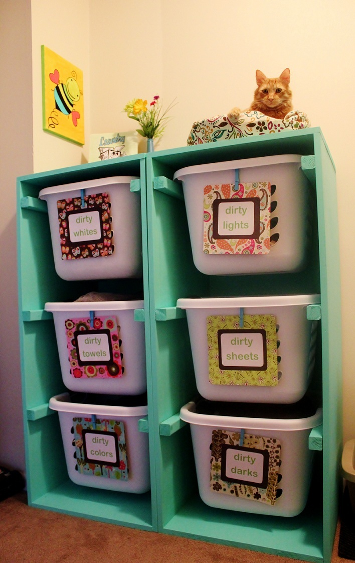 Ana White  Modified Laundry Basket Dresser  DIY Projects