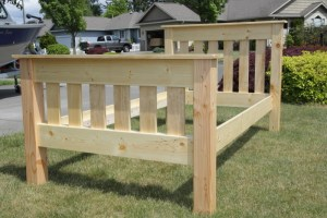 Ana White   Simple Bed Twin   DIY Projects