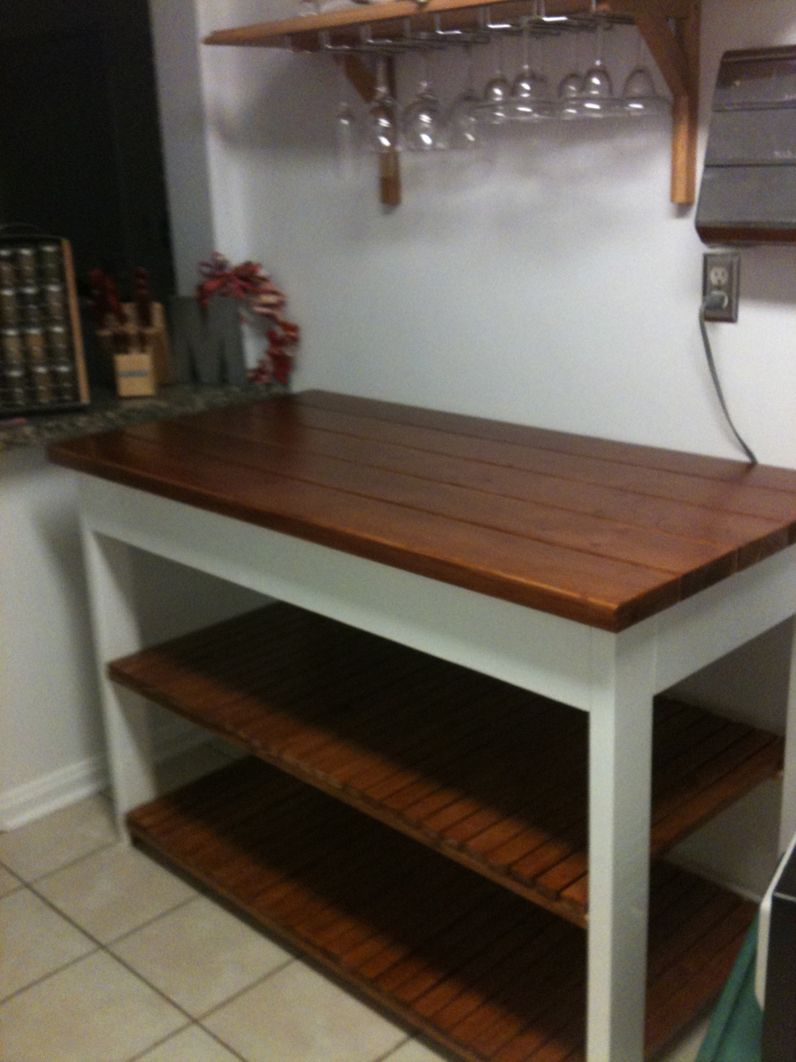 kitchen console pictures for walls ana white island or peninsula diy projects