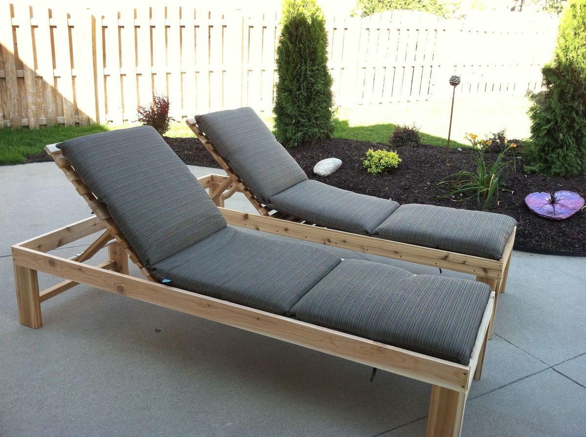 accent chairs under 150 hammock chair stand diy ana white | outdoor chaise lounge - projects