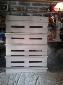 Ana White Pallet Bookshelf - Diy Projects