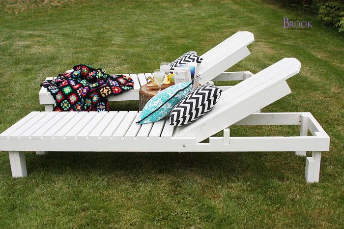cheap outdoor lounge chairs plastic at walmart ana white 35 wood chaise lounges diy projects we really wanted to make these very affordable so they are 24 wide conserve made of 1x3s which tend be significantly cheaper