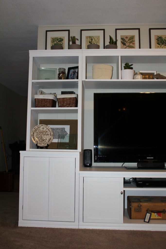 media center living room layout with corner fireplace and tv ana white logan classic storage collection diy