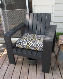 Ana White Simple Outdoor Lounge Chair - Beefed Diy