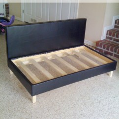 How To Make A Sofa Bed From Scratch Best Recliner Sofas Uk Ana White Little Boy 39s Upholstered Toddler Diy
